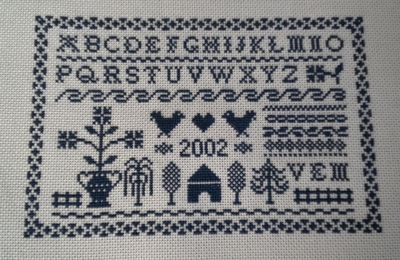 Sal Black Miniature Sampler : fini !!!