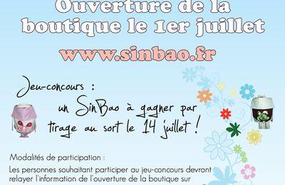 Un SinBao à gagner : jeu concours