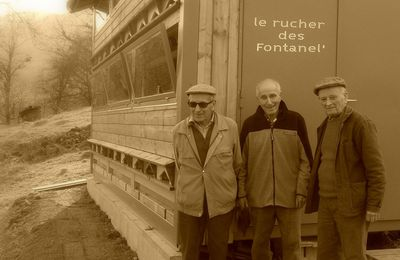 Construction du rucher des Fontanel'