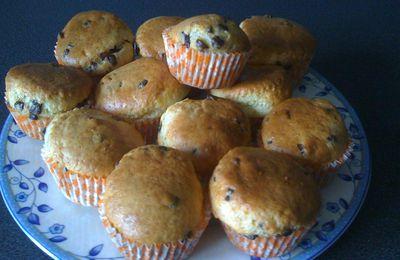 muffins mascarpone pepites de choco
