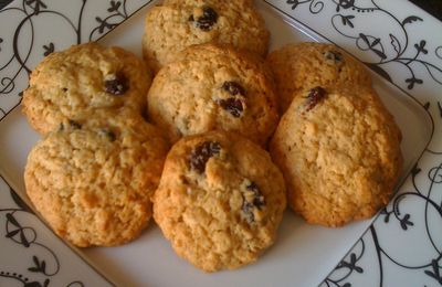 cookies cranberries flocon d avoine