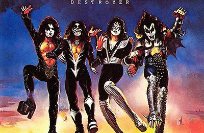 Kiss - Destroyer (Hard Rock - 1976)