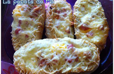 Barquettes de pain complètes