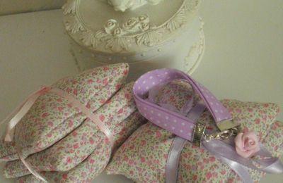 """Bracelet enfant """"violet à petits pois"""""""