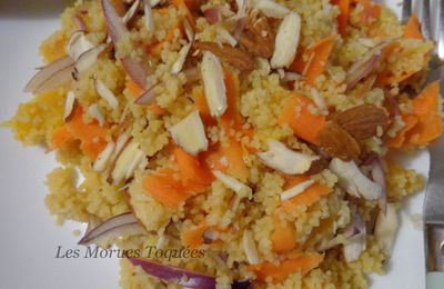 Couscous orange carotte