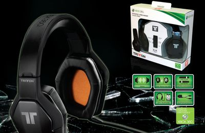 [Prez] Casque Officiel XBOX 360 Tritton Détonator