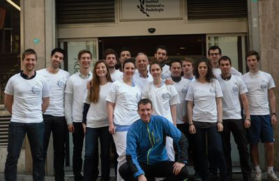 Team INP Marathon de Paris 2014