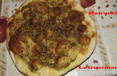 Man'ouche/ Pizza libanaise