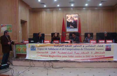 Situation de l'exploration et l'exploitation des Gaz de schiste au Maroc et action d'opposition de la société civile Marocaine