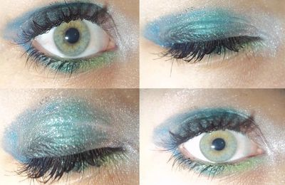 "♥ Augen Make-up ""Mermaid"" ♥"