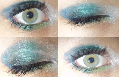 """♥ Augen Make-up """"Mermaid"""" ♥"""