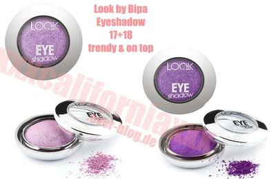 ♥ Testbericht: Look by Bipa Eyeshadow ♥