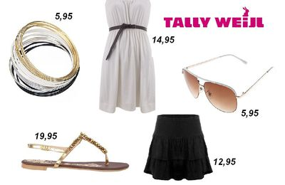 ♥ Tally Weijl Outfit No. 3 - Glamour Queen ♥