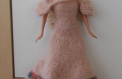 Tricot Barbie: Cendrillon par les copinautes