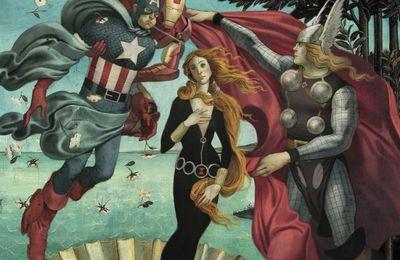 JulianTotinoTedesco : Boticelli Avengers