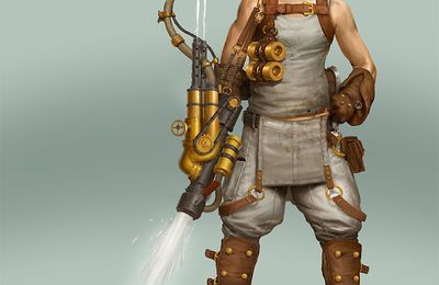 BjornHurri : Luke Skywalker Steampunk