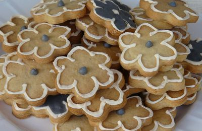 sugar cookies à la cardamome