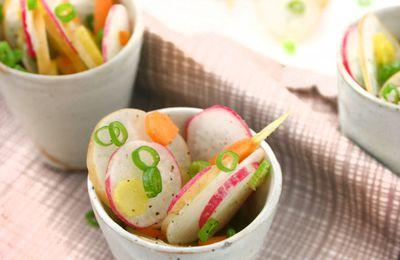 Recette n°190 : Méli-mélo de radis et carottes