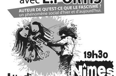 """Rencontre publique """"Le fascisme aujourd'hui"""""""