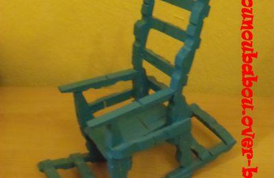 Chaise en pince a linge