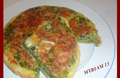 QUICHE EPINARDS/CHEVRE