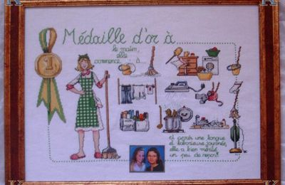 une broderie speciale fille
