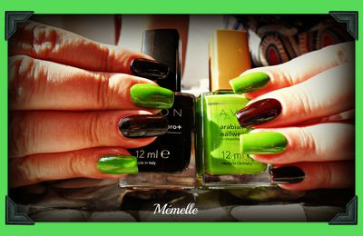 Avon - Electric green feat Tweed