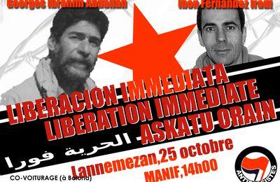 PRISON DE LANNEMEZAN. 25 OCTOBRE 2014