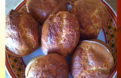 Muffin gorgonzola origan