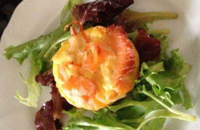 Flan de saumon et surimi