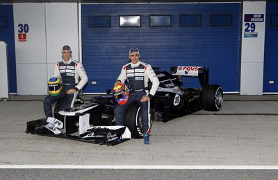 Williams Launch the FW34 at the First Test