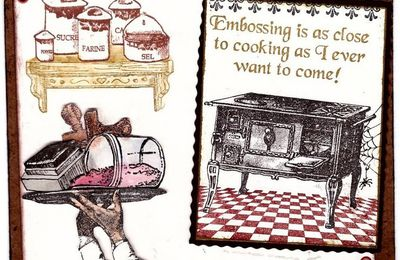 Embossing Vs Cooking