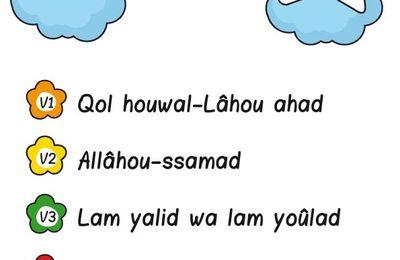 J'apprends Sourate Al Ikhlas