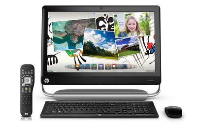 Top product: HP TouchSmart 520