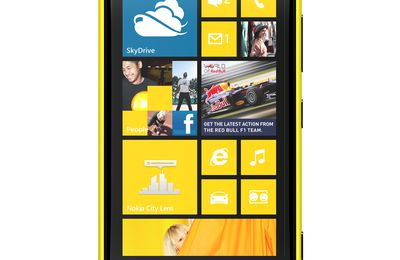 Top product: Nokia Lumia 920