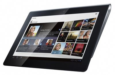 Top product: Sony Tablet S