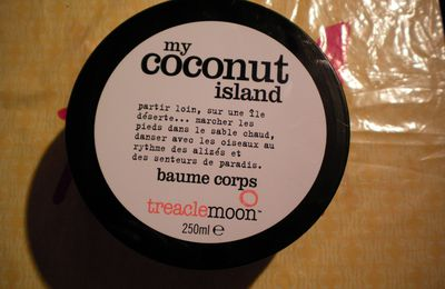 Beurre Corporel Treacle Moon : My coconut island !