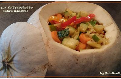 Pâtisson farçi aux légumes