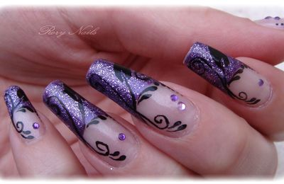 Nail art : Tru Passion tout en arabesque