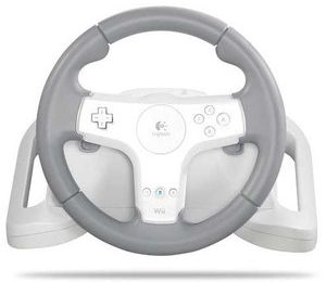 Focus sur le Volant Logitech Speedforce Wireless pour Wii