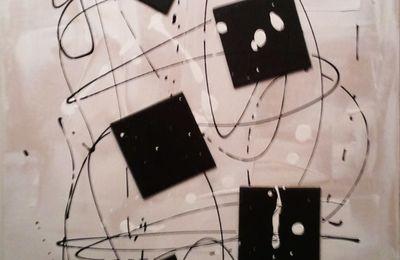 """Galerie """" Cubes """" : Black squares..."""