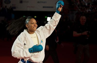 INTERVIEW DE LUCIE IGNACE KARATE