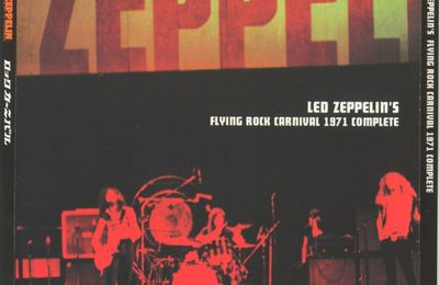 Flying Rock Carnival - 3CD (no label) - Audience 9/10