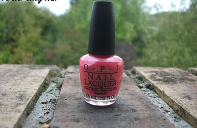 OPI Come to Poppy + I Lily Love You