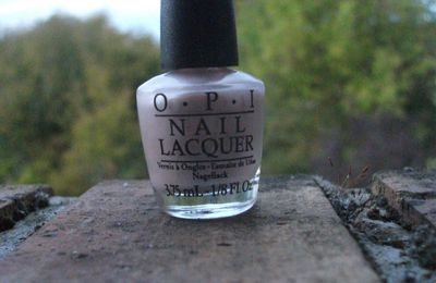 OPI Play the Peonies + I Lily Love You