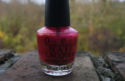 Be a Dahlia Won't You OPI + I Lily Love You