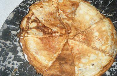 crêpes sans laisser reposer la pâte