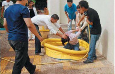 Baptême d'étudiants bizutage