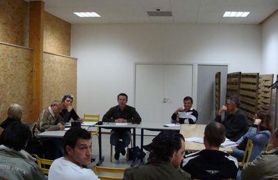 assemblée Générale du Self défense Pratique Charnay 2012