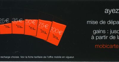 Orange: mobicarte et MMS